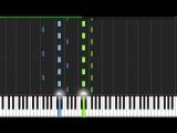 Adagio In D Minor - John Murphy Piano Tutorial (Synthesia)