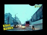 отступники фильм 2006 The Departed kino remix подборка пьяный мужик прыгает и таранит автобус
