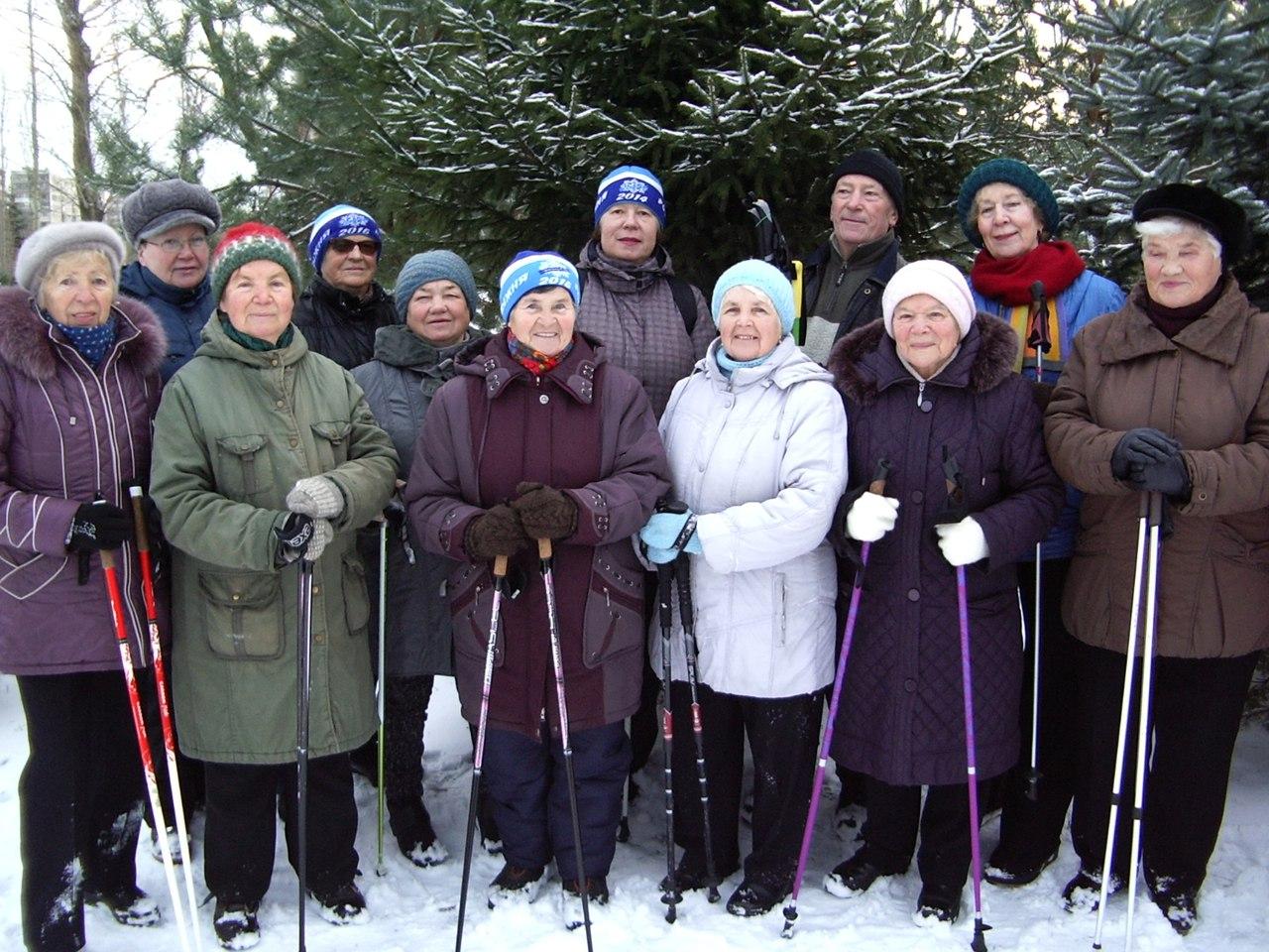 Занятия и Мастер-класс по Скандинавской ходьбе для населения