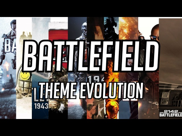 Battlefield Theme Evolution 1942 - BF1