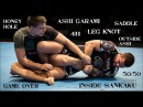 A Guide To The Main Leglock Positions: Ashi Garami, Saddle, Leg Knot, 50/50, Outside Ashi