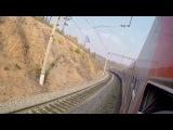 Транссиб Яблоновый перевал на ЗабЖД из окна поезда Россия №2