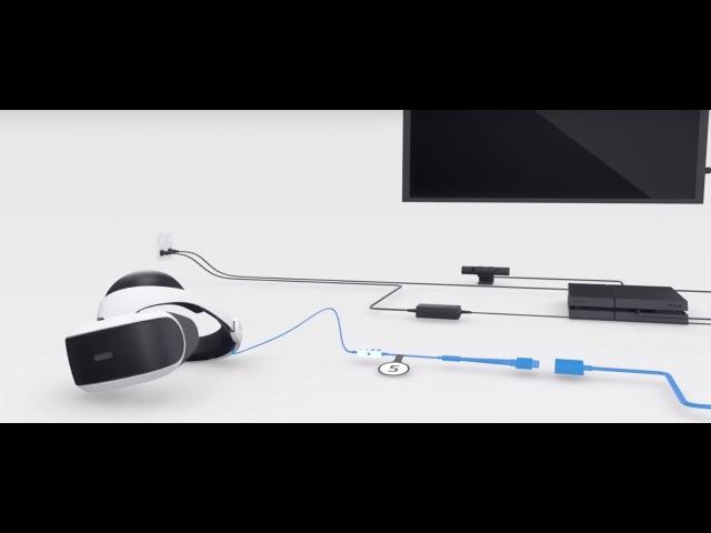 PlayStation VR: как подключить шлем к PS4