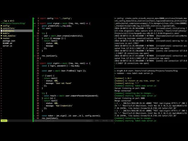 Создание Блога 3 [ OAuth 2.0 ] - nodejs   express   mongodb   react   es6/es7