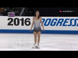 2016 Skate America FS Ashley WAGNER