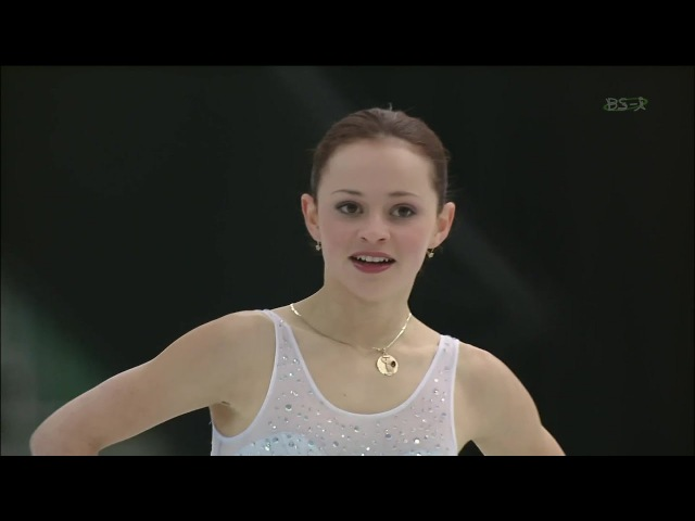[HD] Sasha Cohen - 2002 Worlds SP - Waltz from My Sweet and Tender Beast (A Hunting Accident)
