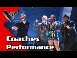 The Coaches perform 'Under Pressure' The Voice UK 2017