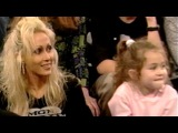 Billy Ray Cyrus &amp 6-Yr-Old Miley Cyrus On The Donny &amp Marie Osmond Talk Show