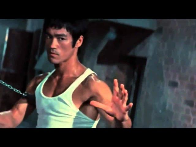 Брюс Ли мастер боя нунчаками Bruce Lee nunchaku fight master
