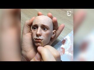 Russian artist creates stunningly realistic dolls