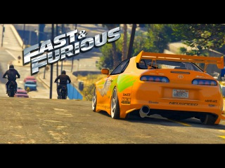 GTA 5 - The Fast And the Furious - Chasing the Killers