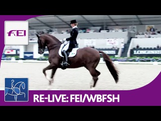 Re-Live | Longines FEI/WBFSH | World Breeding Dressage Chps. f. Young Horses | Stallions Final