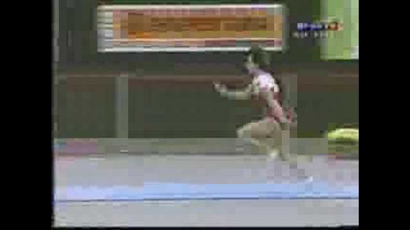 Oksana Chusovitina 2004 Rio de Janeiro EF VT