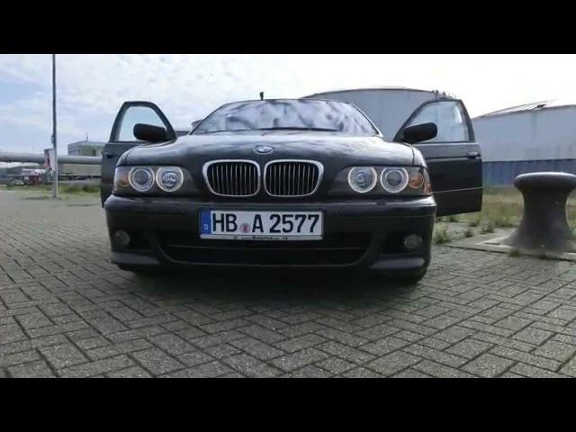 US- Sidemarker coding BMW E39/ Кодирование передних маркировочных огней на БМВ Е39