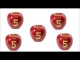 Цифры от 1 до 10 в ЯБЛОКАХ  Развивающие мультфильмы для детей  Развивающее видео д ...
