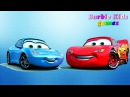 The review of toys from the animated film Cars - McQueen, Sally Carrera, Mater, Luigi Обзор игрушек из мультфильма