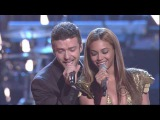 (HD) Beyonce &amp Justin Timberlake - Ain't Nothing Like the Real Thing (Fashion Rocks 2008) live