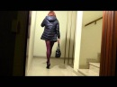 Corinne Cherie , transvestite,crossdresser, before go out in the afternoon
