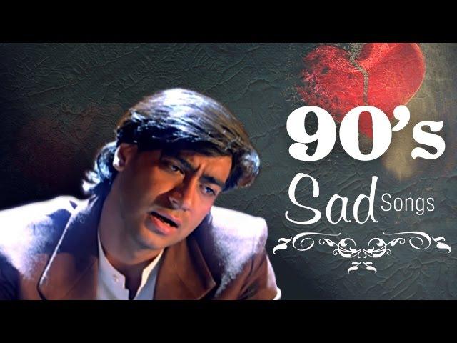Best Of 90s Sad Songs JUKEBOX (HD) - Dard Bhare Naghmein - Evergreen Hindi 90s Romantic Songs