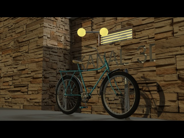 3Ds Max bicycle modeling tutorial 2016 - part 5
