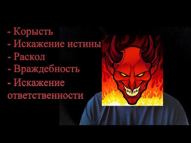 Наш внутренний демон и его признаки - Виртуальный психолог