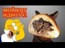 Мой кот идиот 1 Лучшие приколы 2016