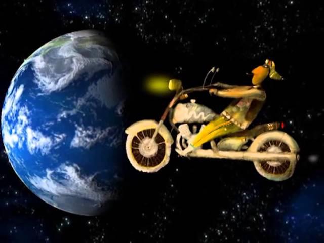 гр. Мыс Луны: Мотобайк. Клип для фестиваля Космофест, 13 апреля 2013