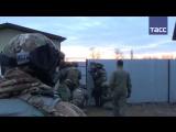 Видео задержания террористов в Москве и Ингушетии