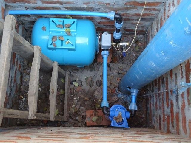 Подводка воды на даче своими руками