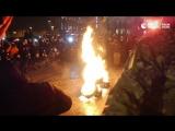 Беспорядки в Киеве в третью годовщину Майдана