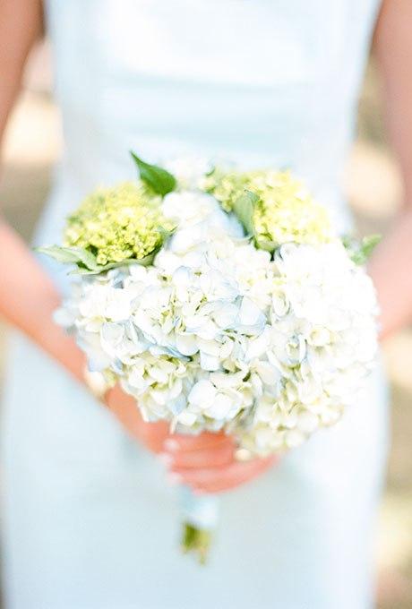 01Eqe0Y26SA - 15 Свадебных букетов с гортензией