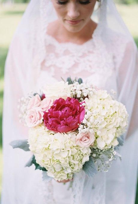 6 hGciOa3W4 - 15 Свадебных букетов с гортензией