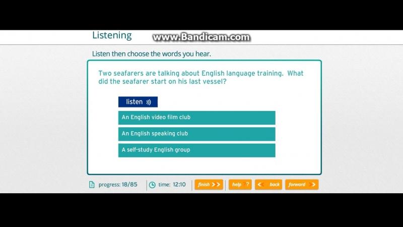 18 Кyрсы английского для моряков Eleon School . Marlins test