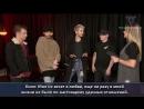 RTL2 - Interview with Tokio Hotel [21.02.2017, Berlin] (с русскими субтитрами)