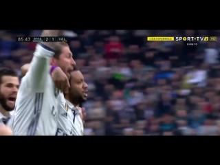 Реал 2:1 Валенсия. Гол Марсело