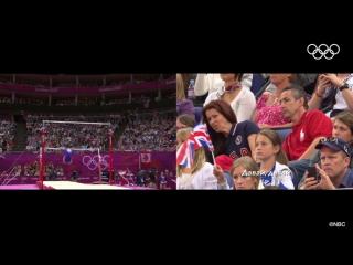 Родители Александры Райсман, Рио-2016
