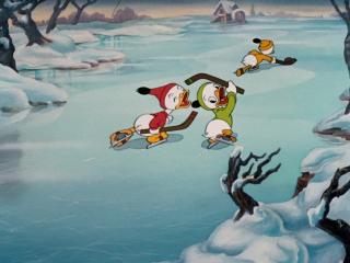 Рождество Дональда Дака. Избранное - 3 серия - Чемпион по хоккею (1939) 1080p