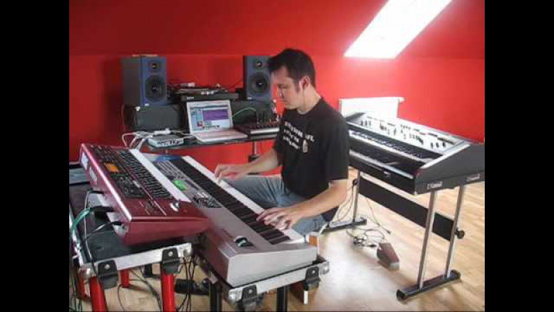 Adam Drzewiecki pop rock keyboardist demonstration movie