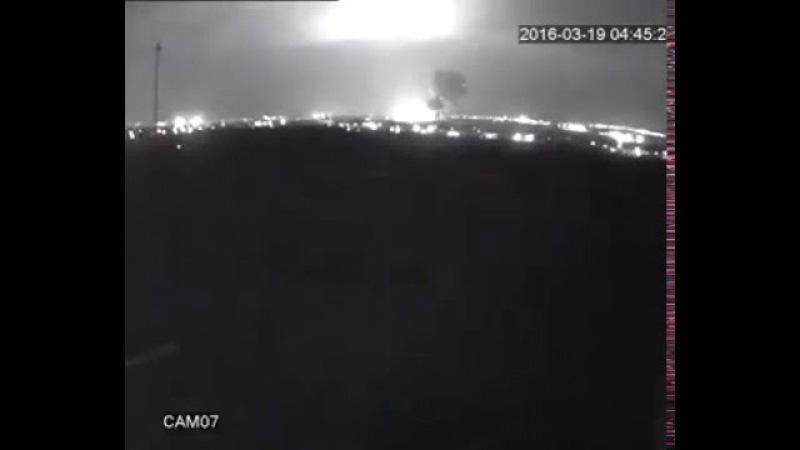 Fly Dubai FZ981 Crash Video (Security Cam)