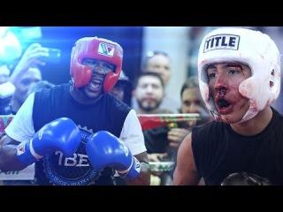 Most Brutal Secret Boxing Sparring Wars Pt1