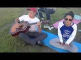 Песни под гитару Бьянка А чё чё cover девушка