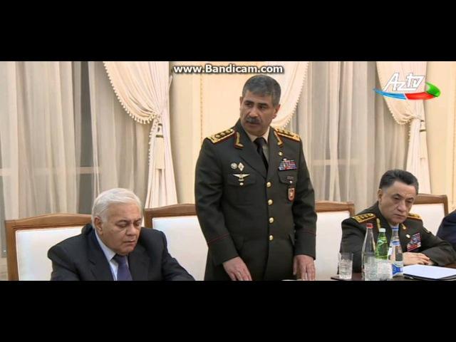 Zakir Hasanov ermeni texribatindan danisdi