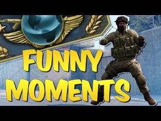 CS GO FUNTAGE #15 - Global Elite Adventures & CS:GO Funny Moments