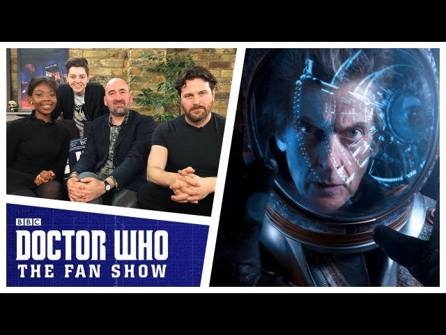 Jamie Mathieson, Mimi Ndiweni Kieran Bew - The Aftershow - Doctor Who: The Fan Show