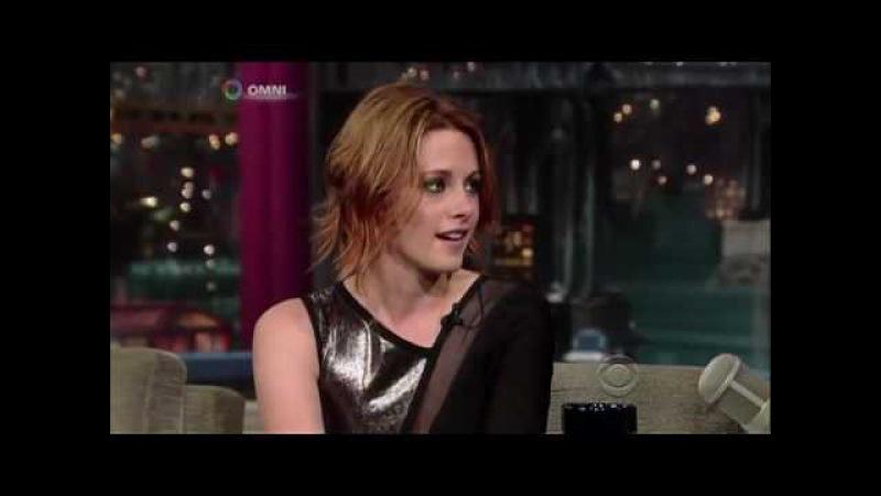 Kristen Stewart i David Letterman Show - 28 06 2010 (NAPISY)
