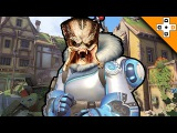 Overwatch FUNNY EPIC Moments 36 - MEI THE PREDATOR - Highlights Montage