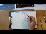 Воздушная перспектива. Урок 76 Аerial perspective