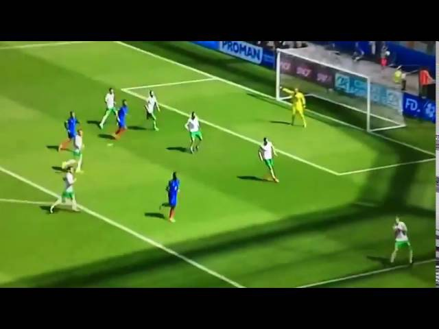 Antoine Griezmann's First Goal France Vs Ireland 2-1