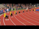 Justin Gatlin beats Two Best USA Young Sprinters on 200m (HD)