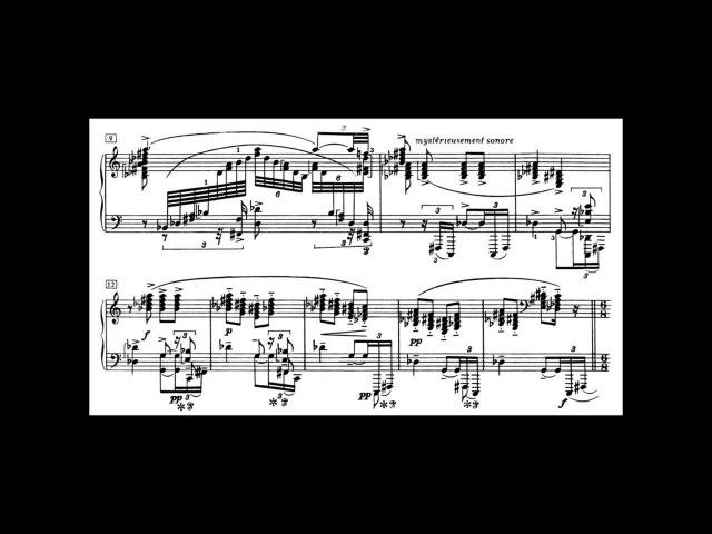 Scriabin: Sonata Op.64 No.7, White Mass (Volodos)